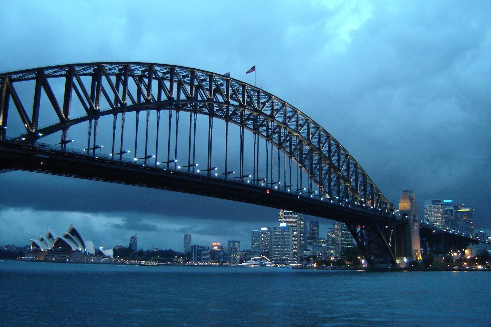 sydney harbour bridge opera house 1230941 - View Sydney Harbour Bridge And Opera House Pictures  PNG