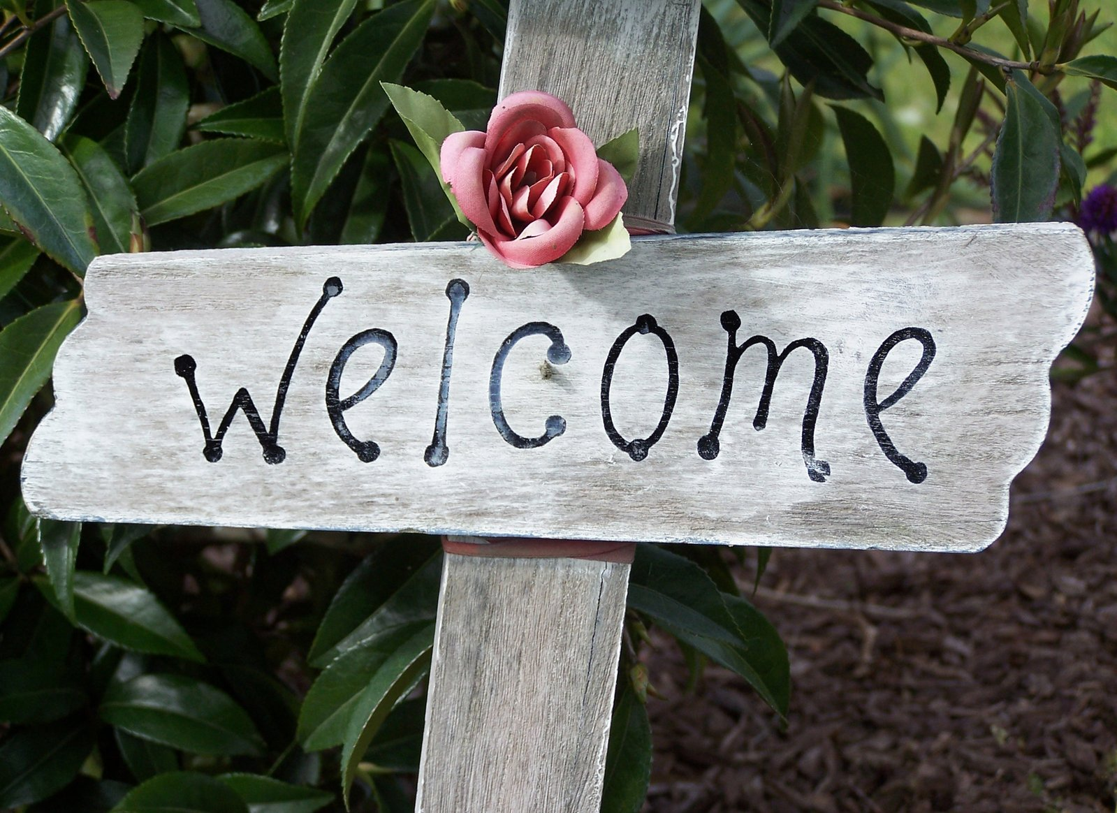Free Welcome sign Stock Photo - FreeImages.com