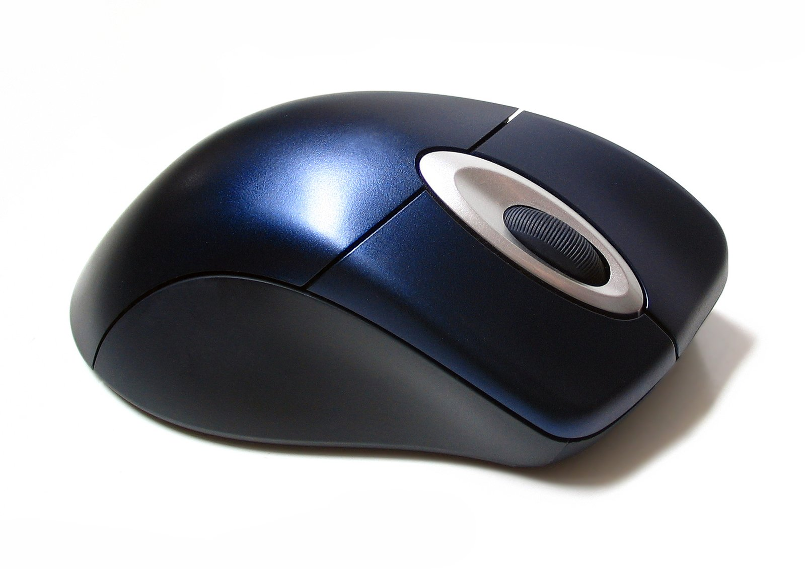 Blue wireless mouse 3