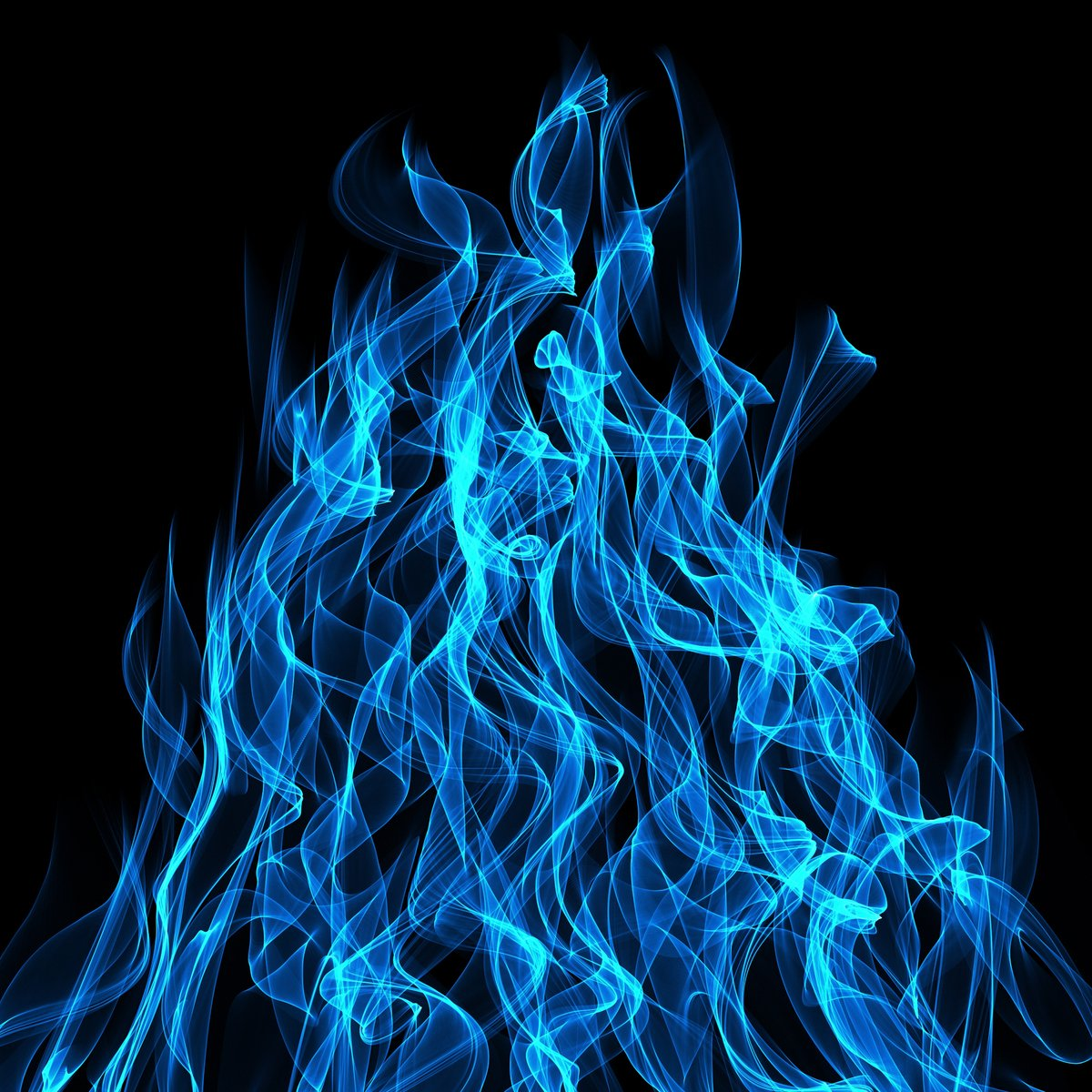Free blue flames stock photo for Silverleaf com