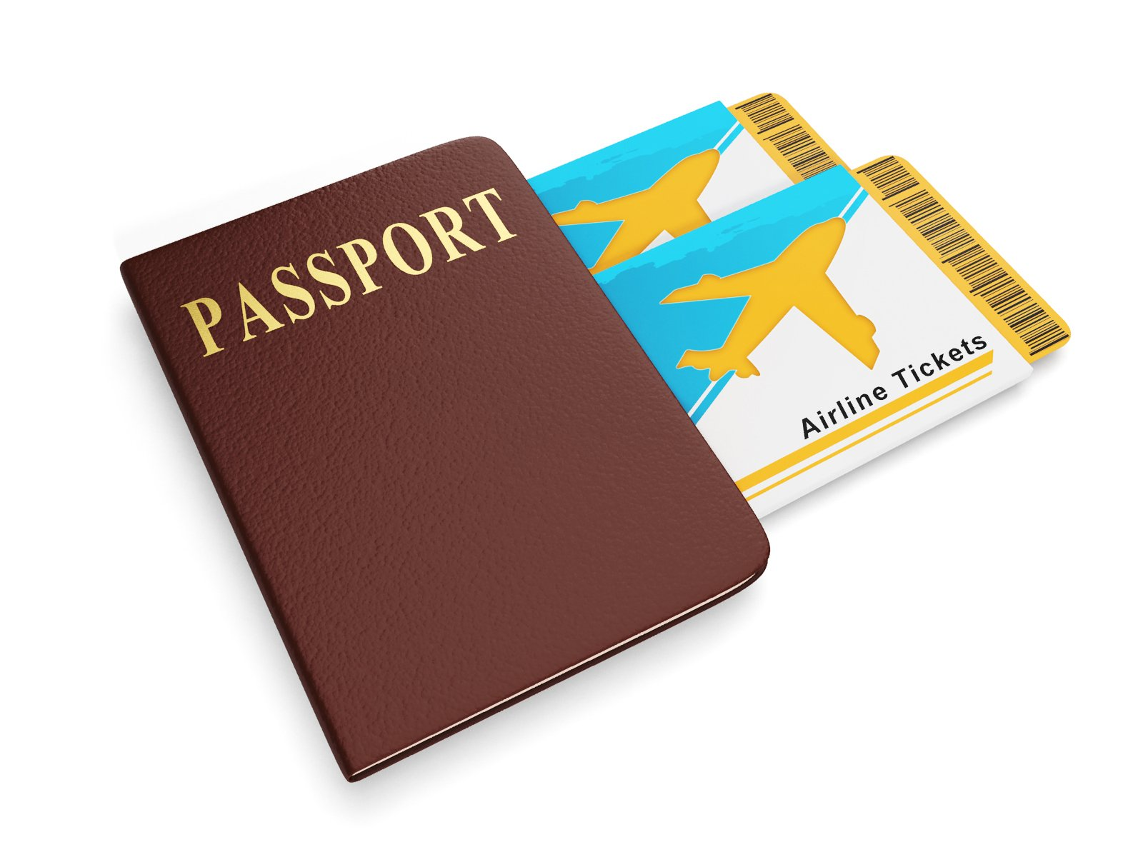 Free Sign trip. Group ticket and passport, holidays abr ...