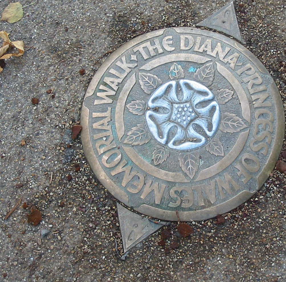 free the diana princess of wales memorial walk mark in hyde park london 2004 stock photo freeimages com freeimages com