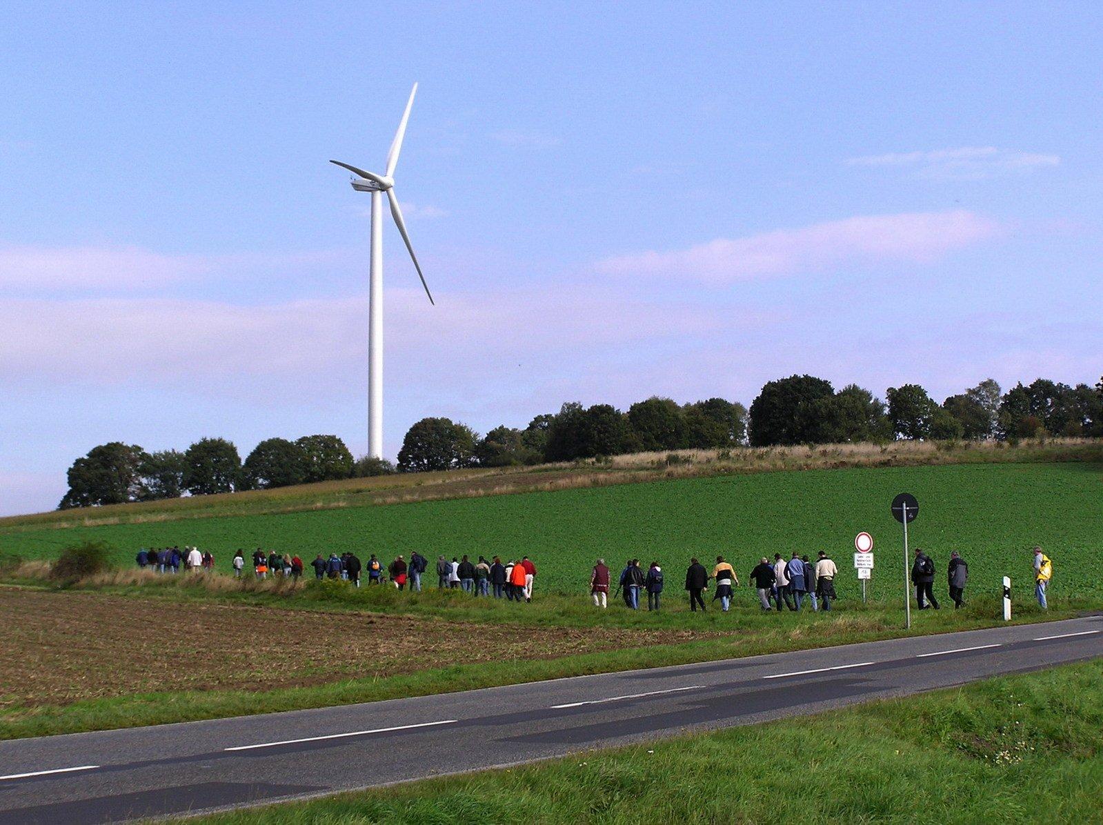 free modern windmill stock photo freeimagescom
