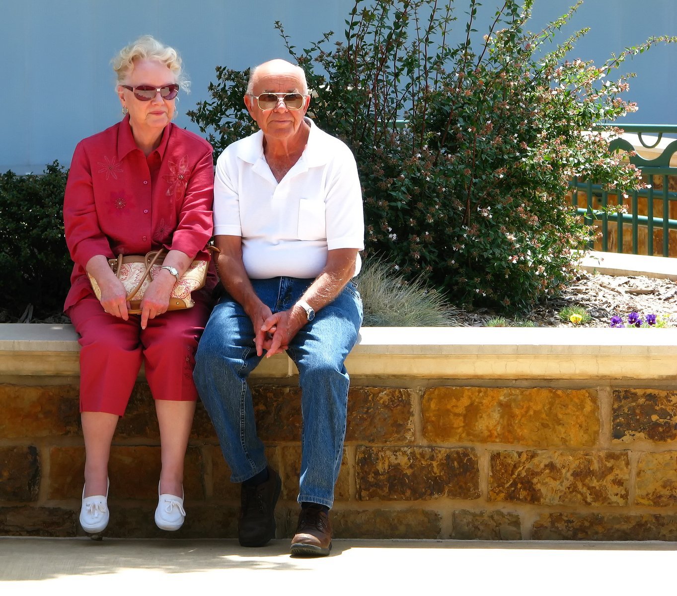starší pár