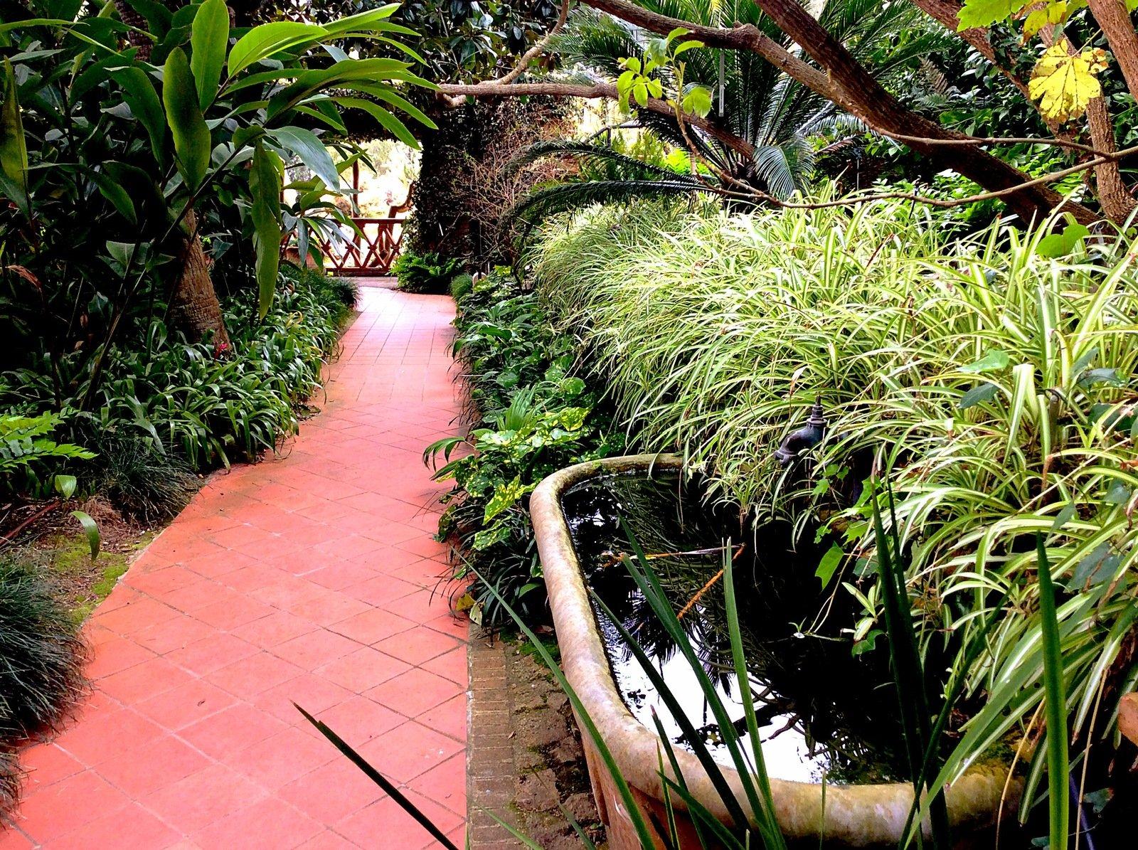 Free Botanic Garden In Blanes Stock Photo