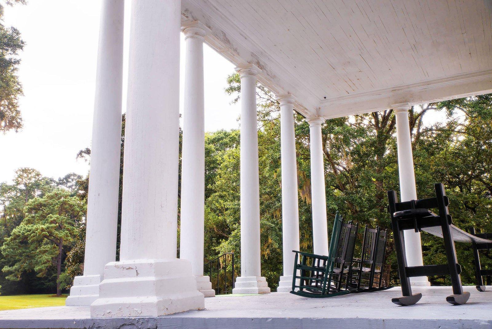 Free Souther Plantation Porch Stock Photo Freeimages Com
