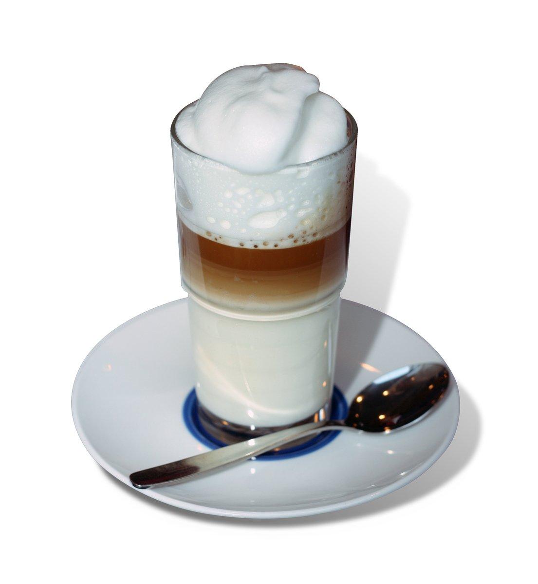 Free Latte Macchiato Stock Photo