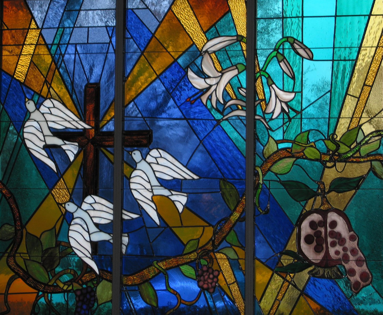 Free Stained Glass Stock Photo