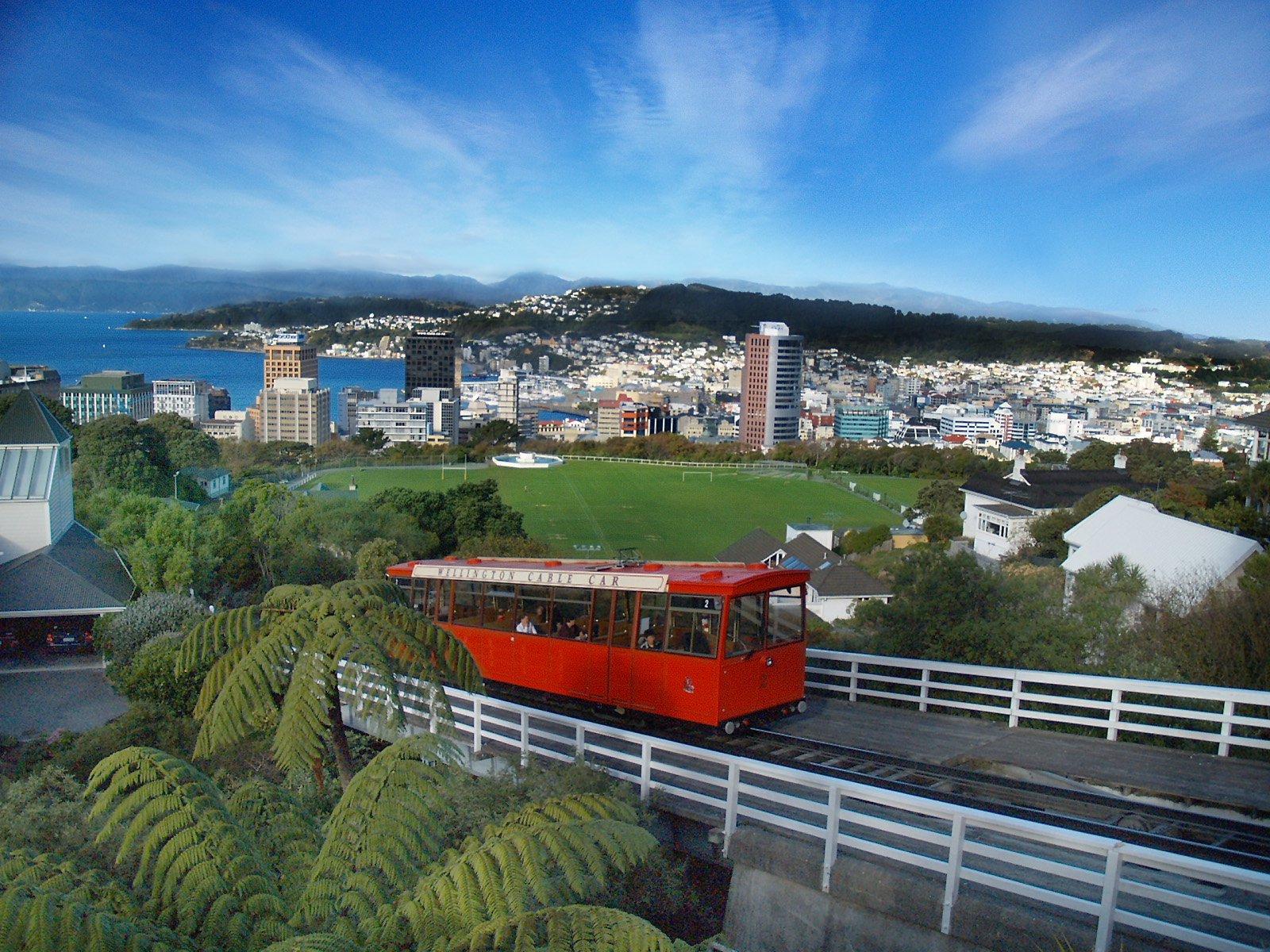 sea freight Wellington City - Cable Car