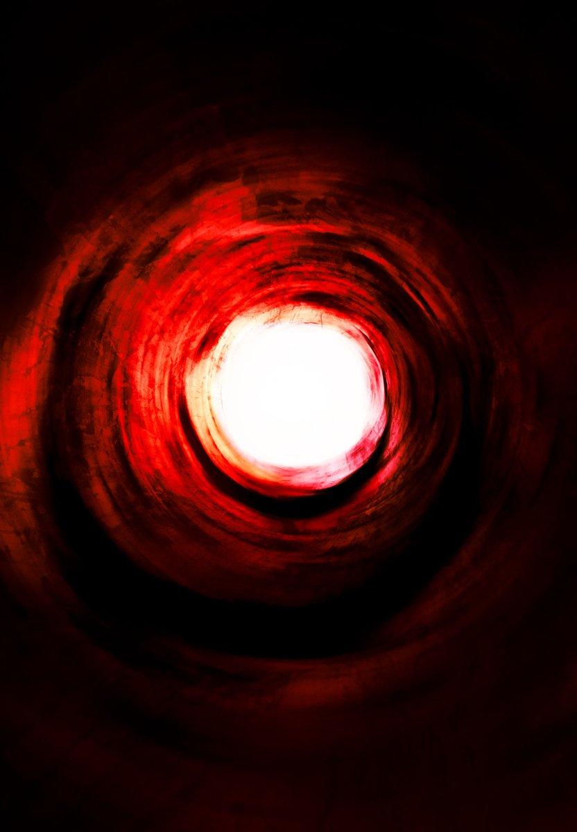 Túnel de hipnótico a la luz