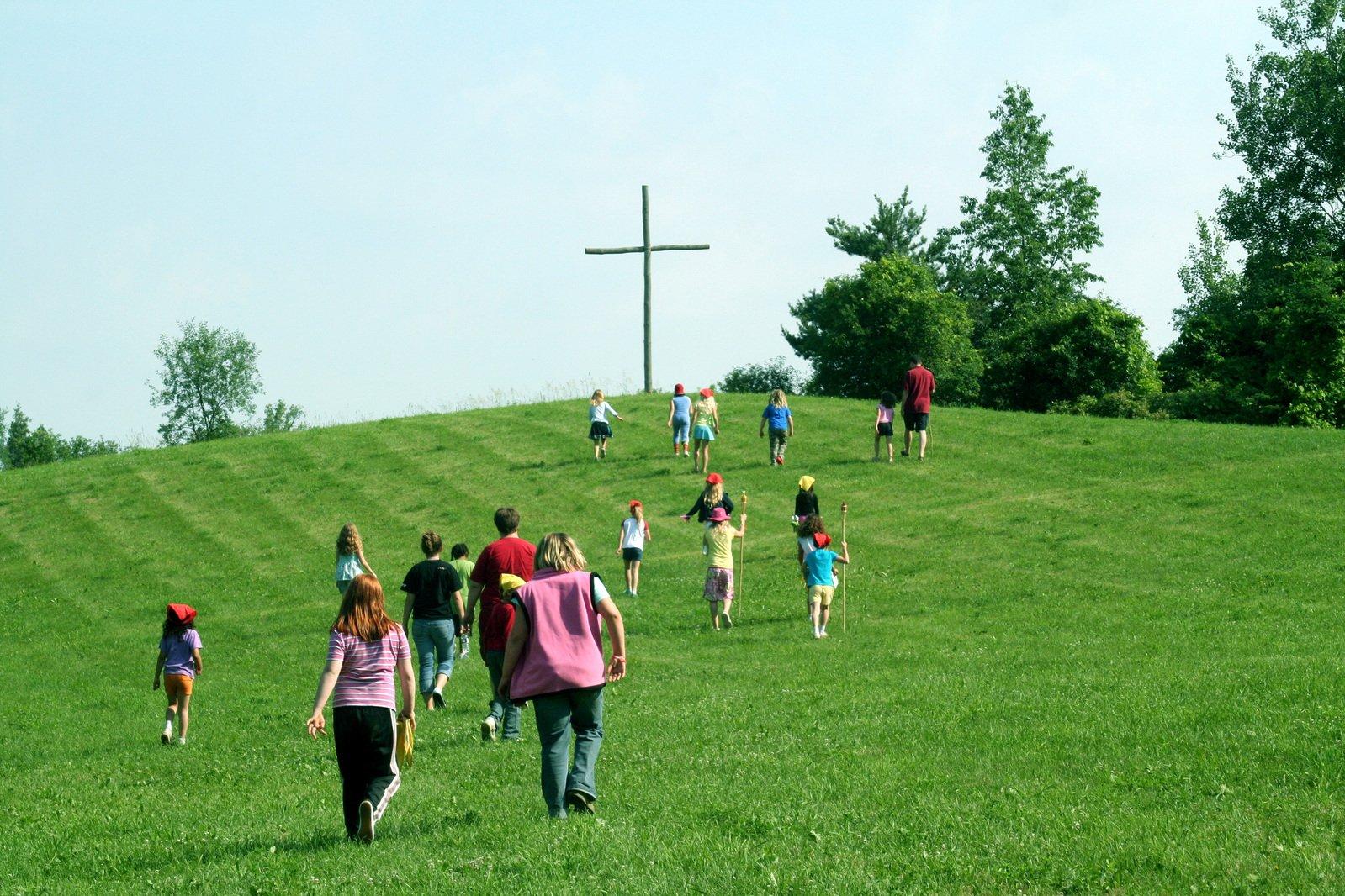 Caminando hacia la Cruz