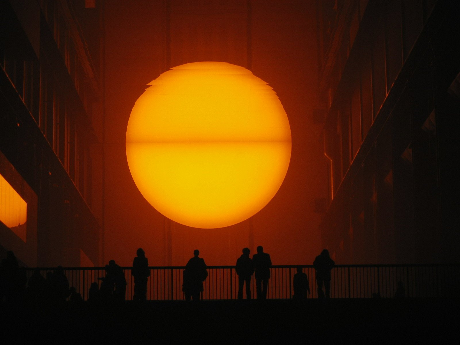 weather project The weather project by olafur eliasson on curiator, the world's biggest  collaborative art collection.