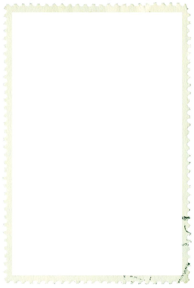 Free Stamp Border Stock Photo
