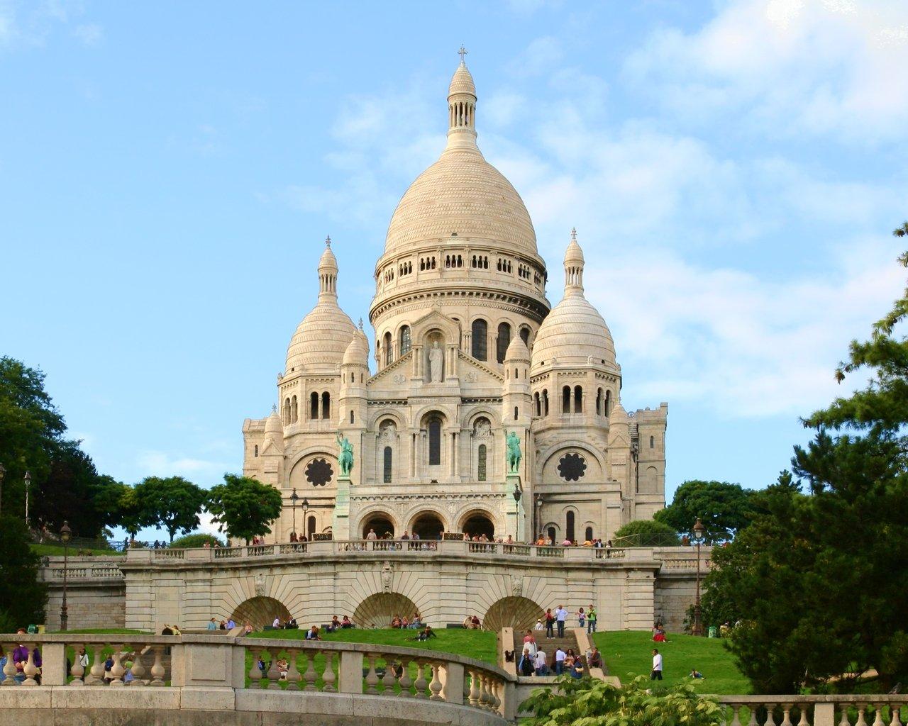 Exterior Home Design Games Free Sacre Coeur De Montmartre Stock Photo Freeimages Com