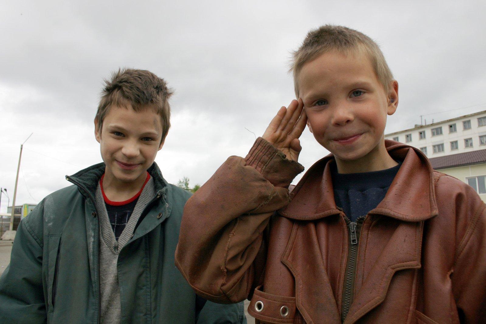 Russian children