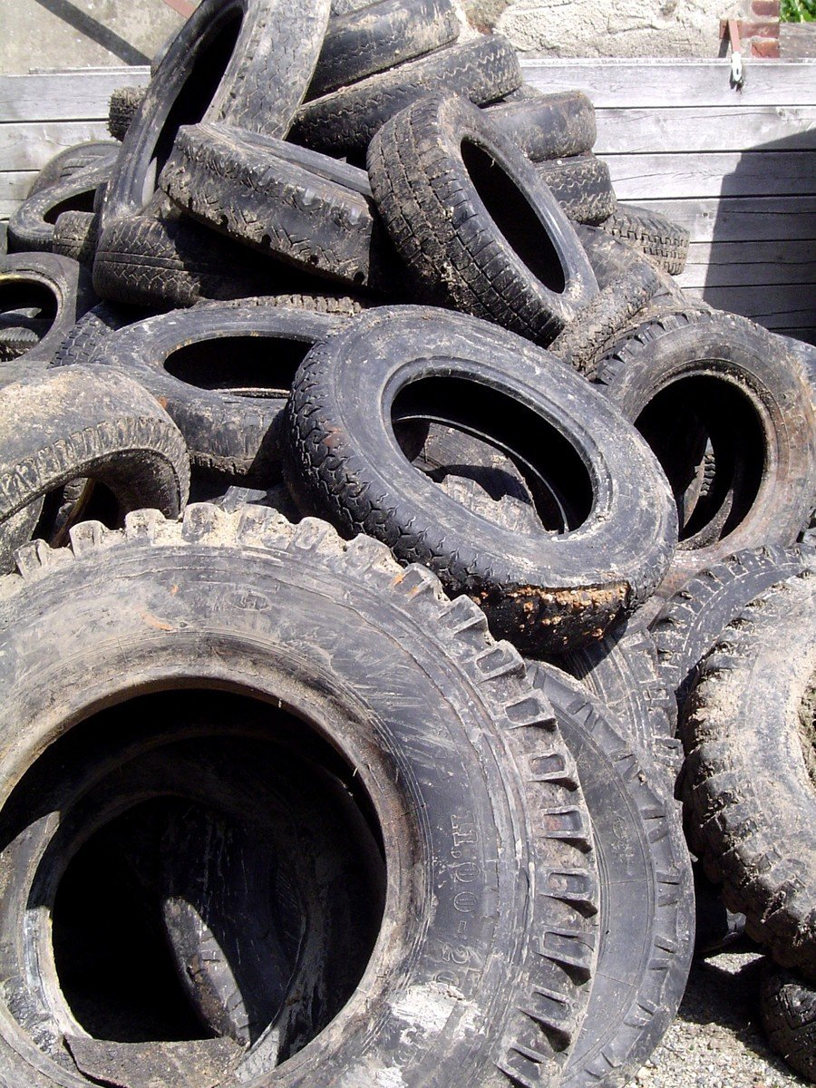 Free Old Tyres Stock Photo Freeimages Com