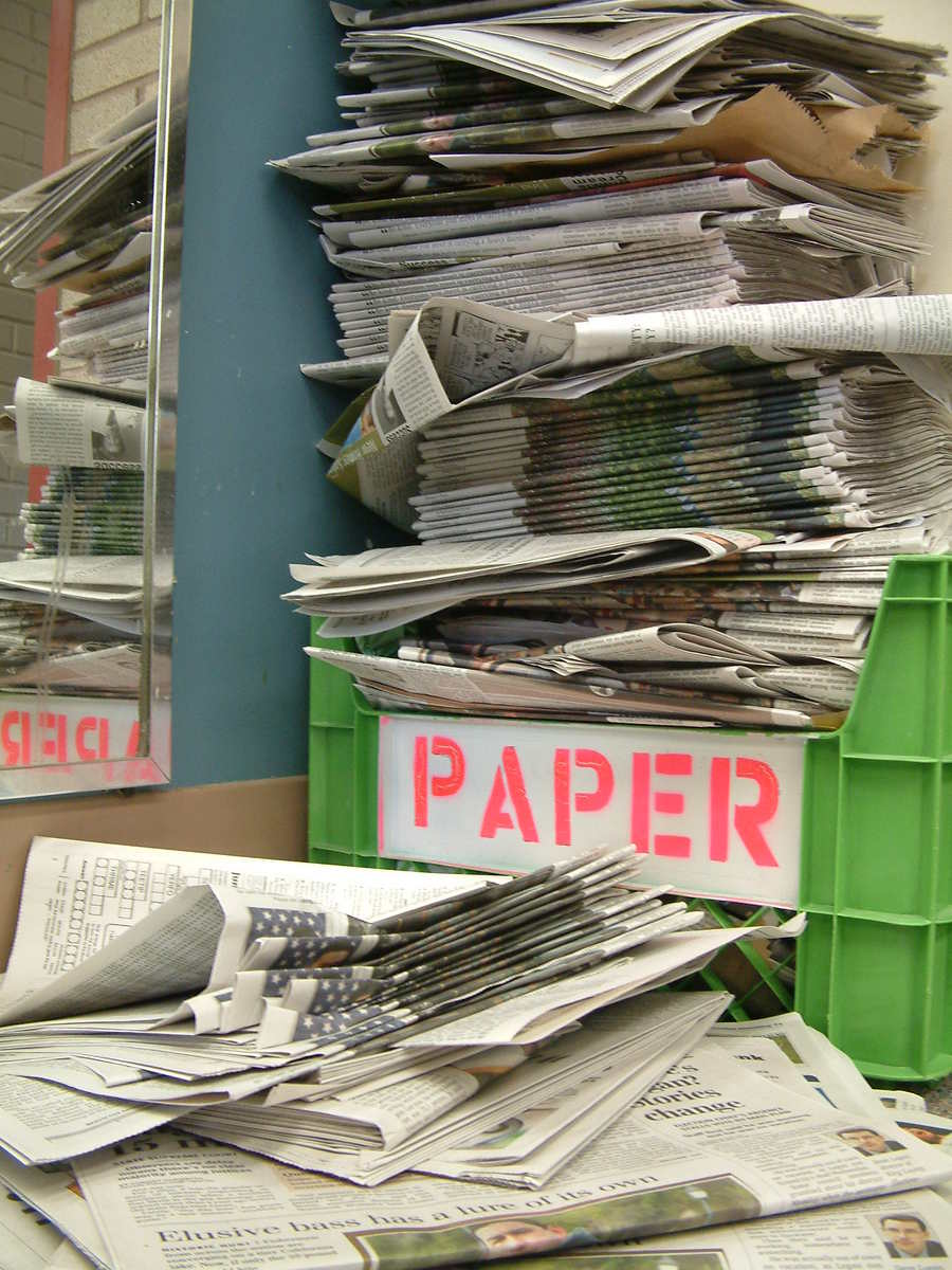 Paper,newspaper,recycle,paper