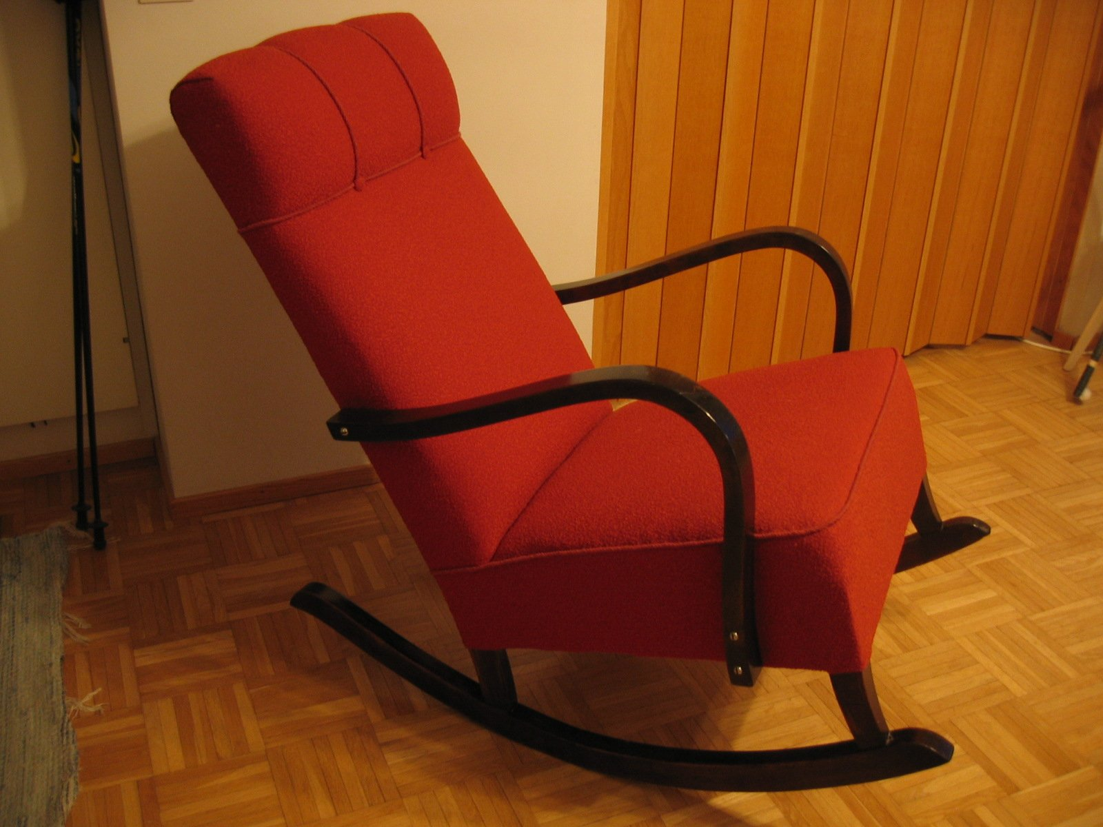 Free red rocking chair stock photo freeimages