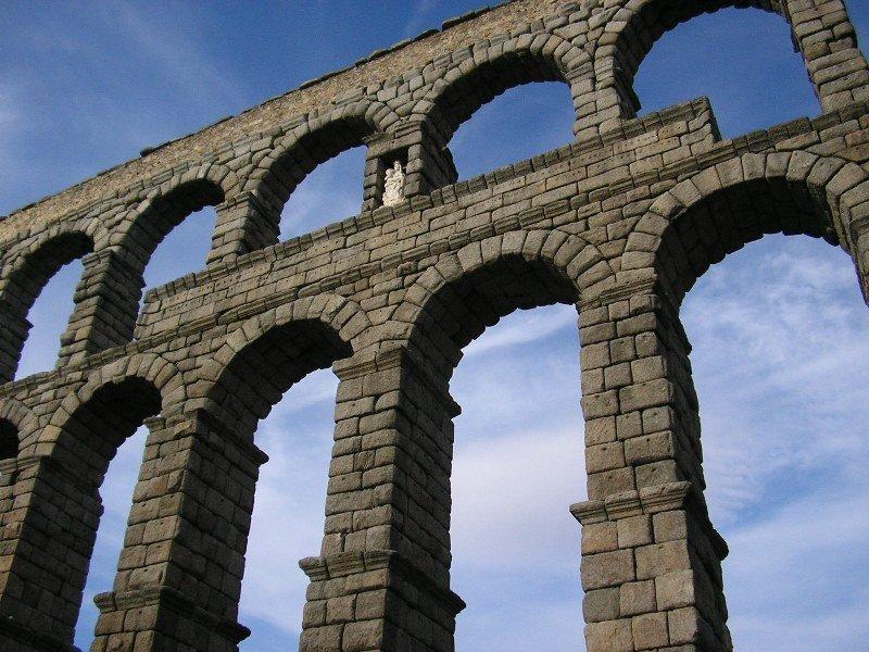 Free Roman Aqueduct Stock Photo - FreeImages.com