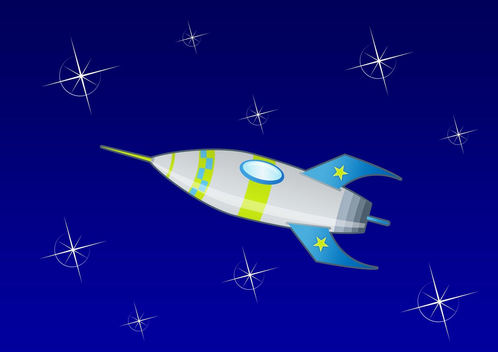 Free SpaceRocket Stock Photo