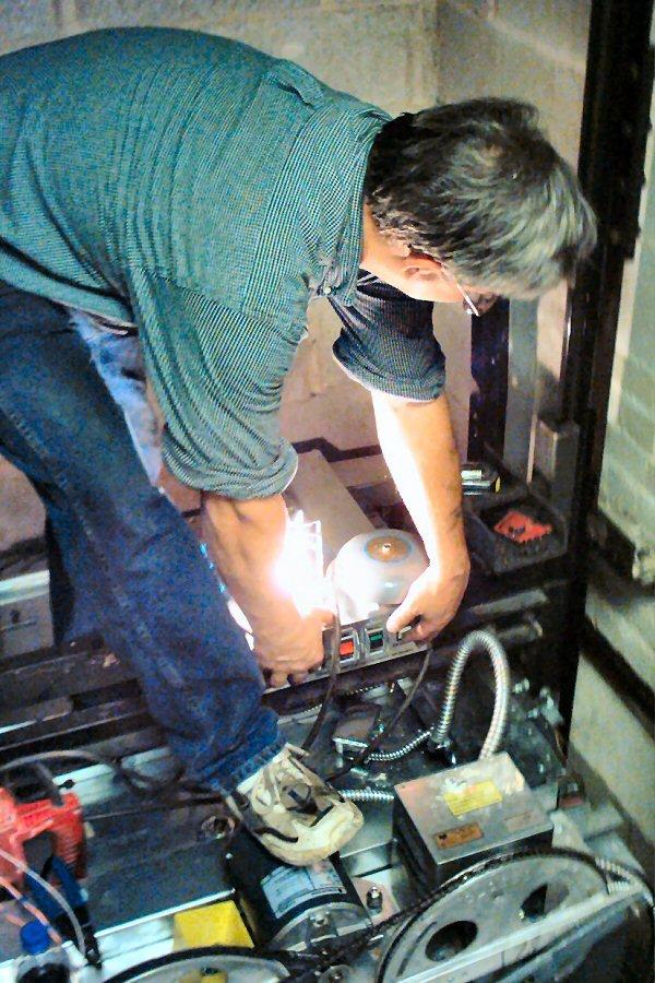 free elevator repair stock photo freeimagescom