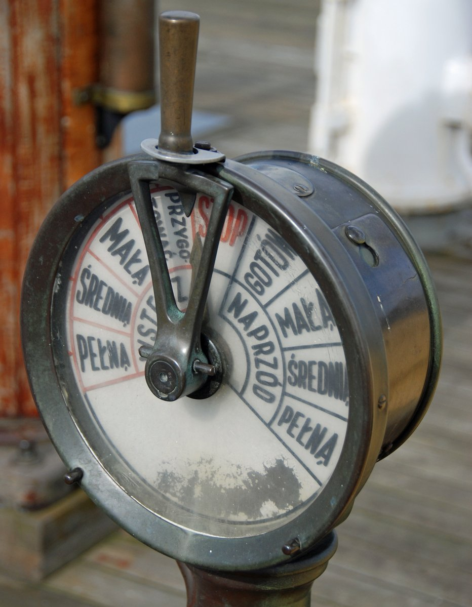 Engine Room Telegraph: Free Engine Room Telegraph Stock Photo