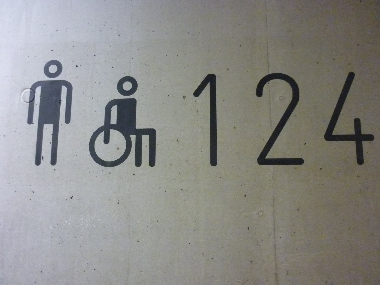 free toilet sign with numbers stock photo freeimages com