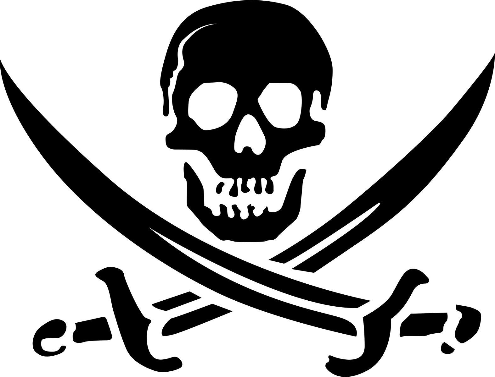 Free Skull Pirate Logo Stock Photo - FreeImages.com