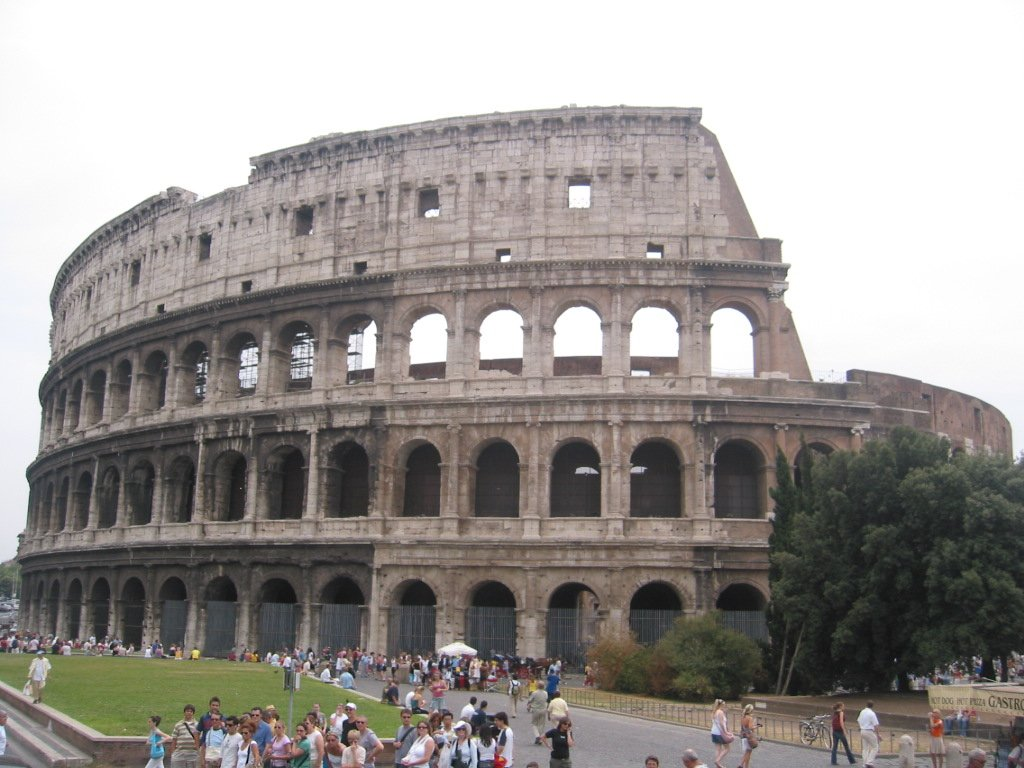 Free Roman Colosseum Stock Photo