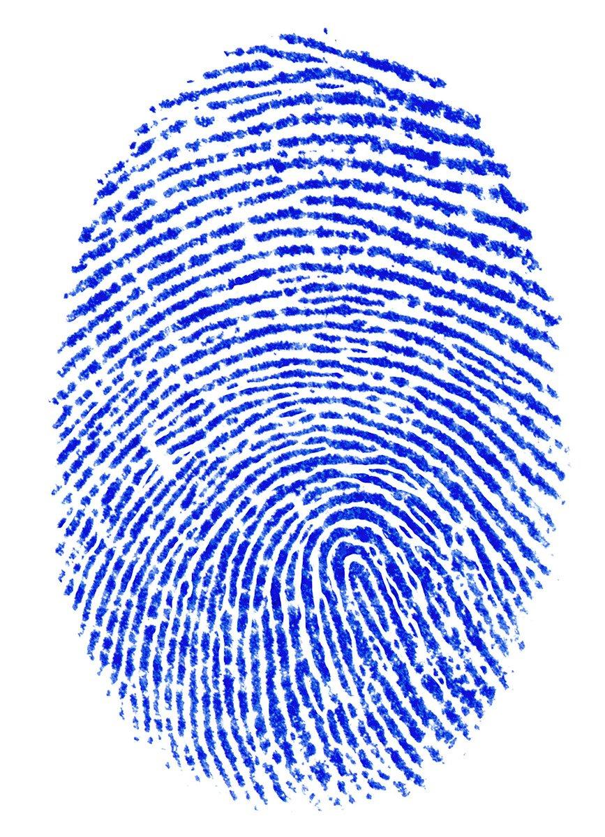 Faszinierend Bild Fingerabdruck Foto Von