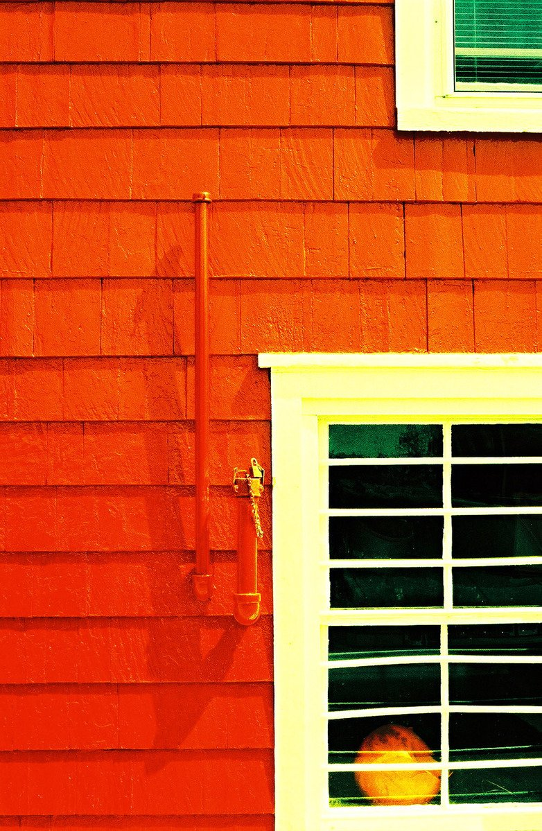 Free Red White Green And Windows Stock Photo