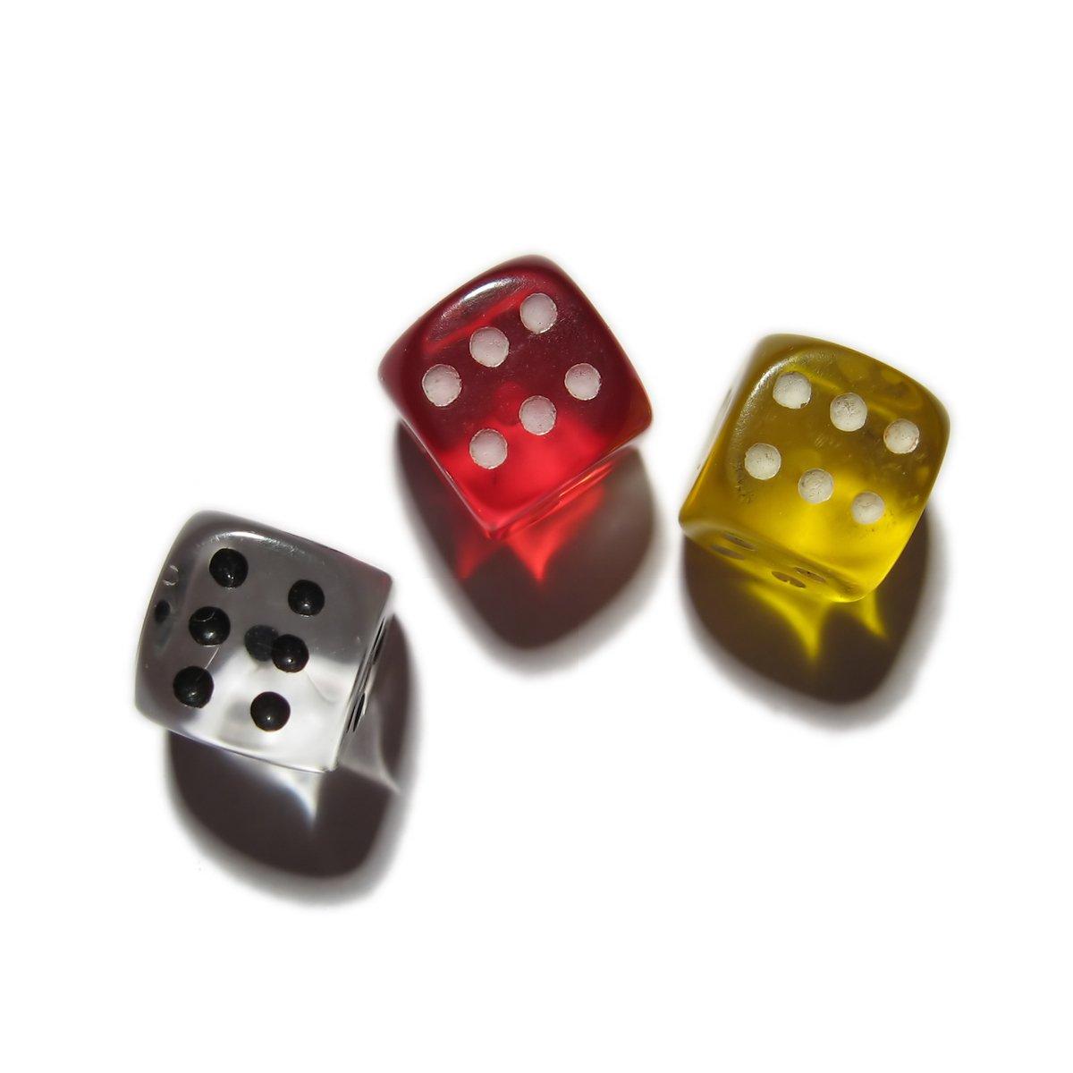 Dices,dice,dices,three
