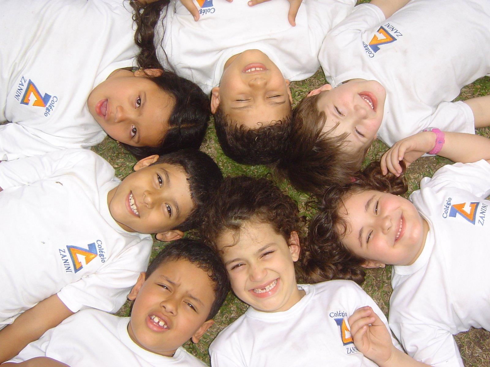 Фото детей на кругу