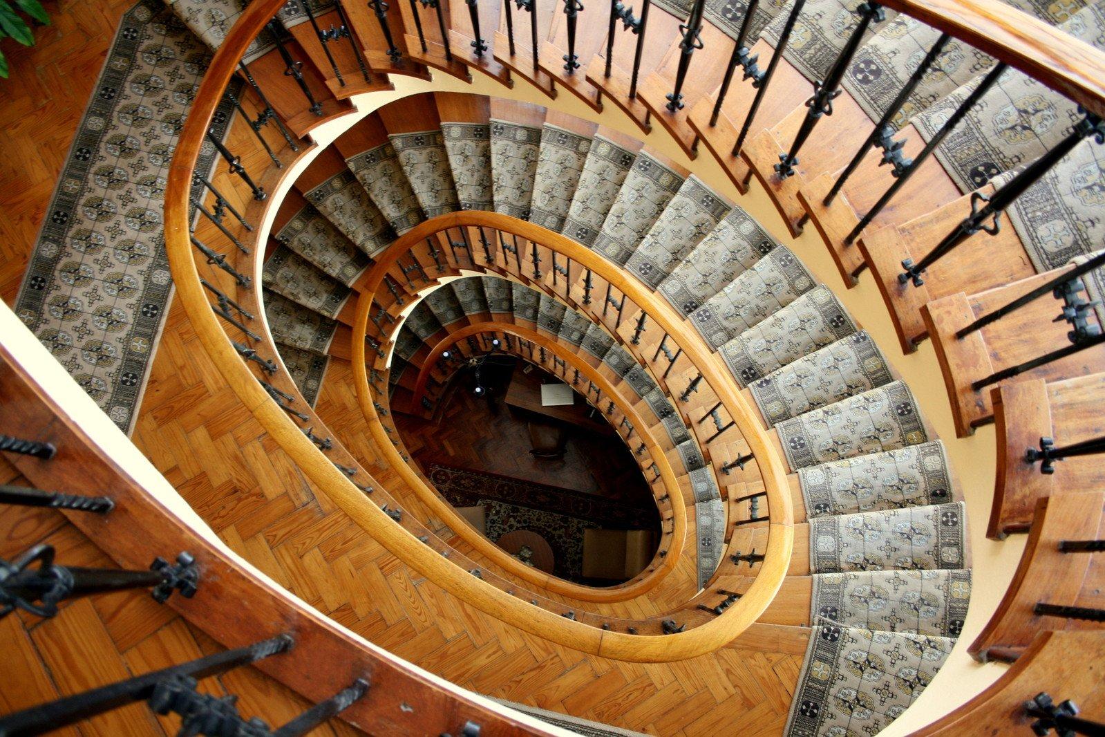 Free Spiral Staircase Stock Photo