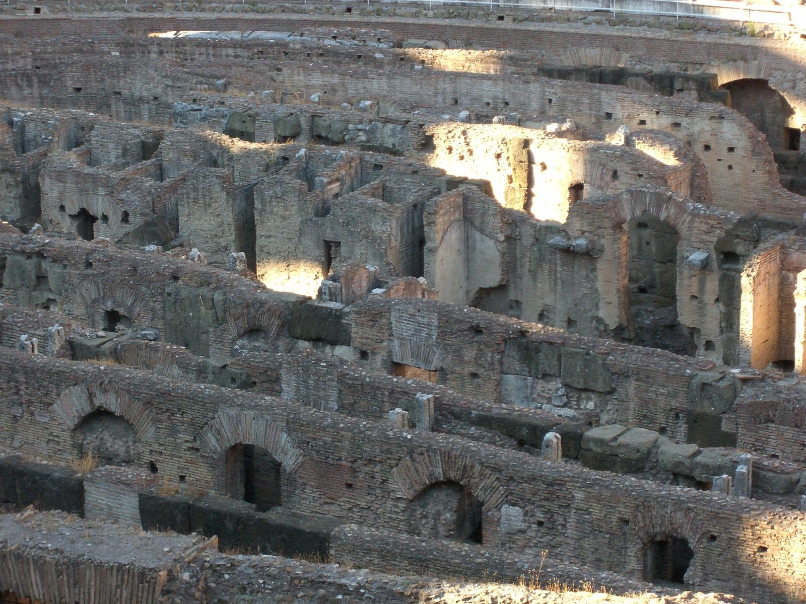 Free Interior View Of The Colosseum In Rome Stock Photo