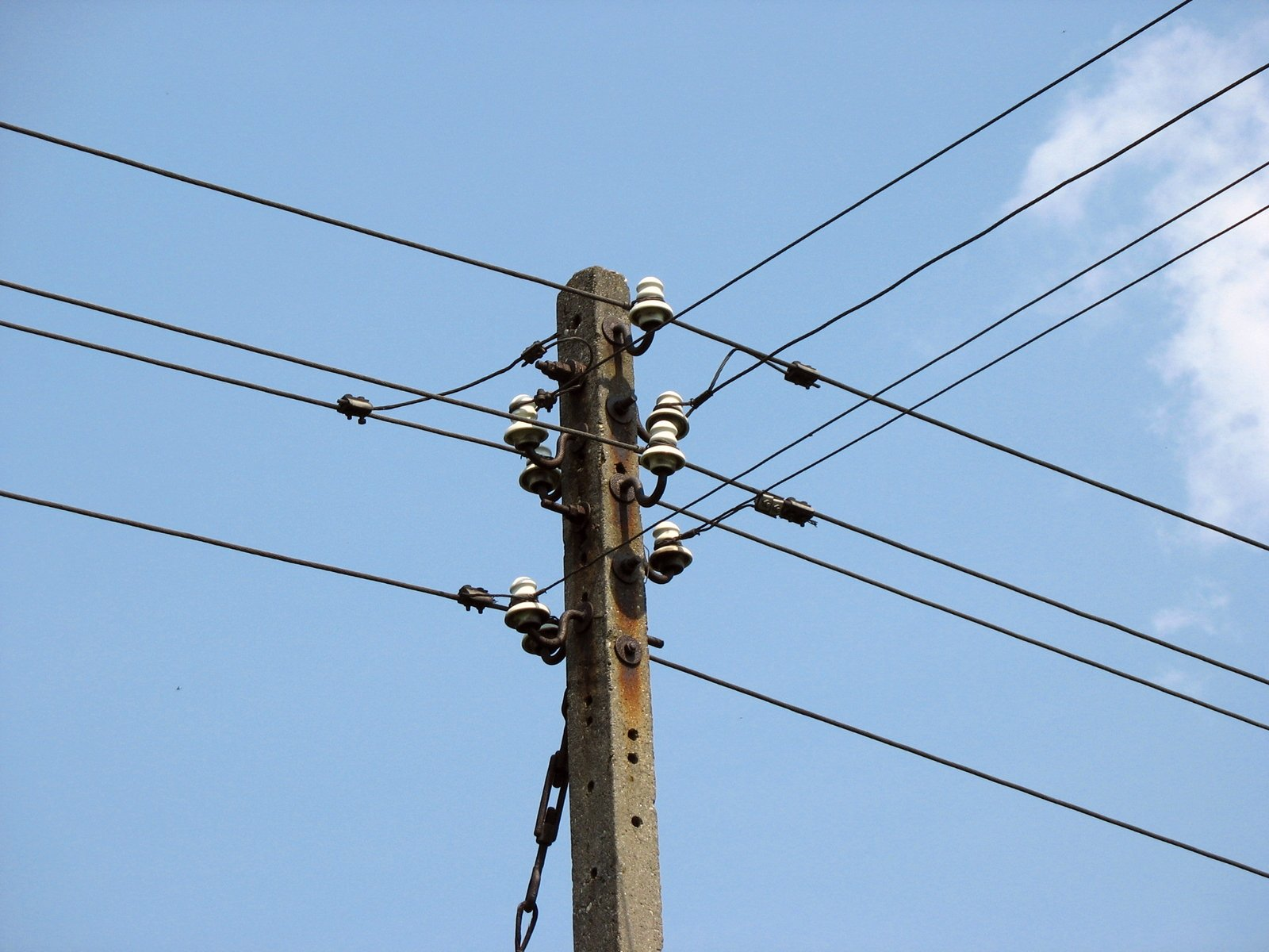 Free Old Electric Pole Stock Photo Freeimages Com