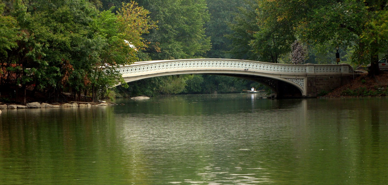 Free Bow Bridge Central Park Stock Photo Freeimages Com