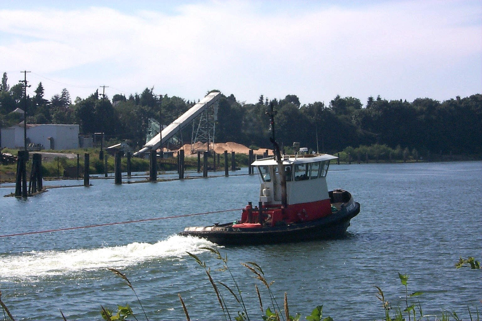 Free snohomish river tug boat stock photo for Snohomish river fishing