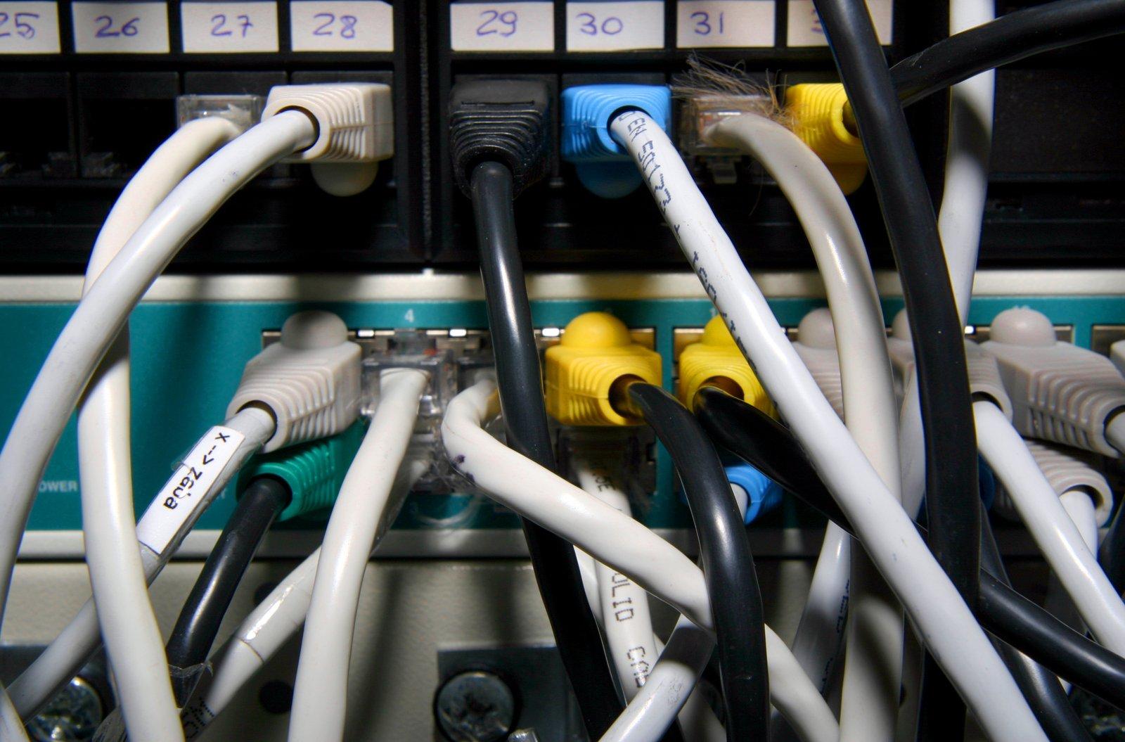 cable,server,hub,computer