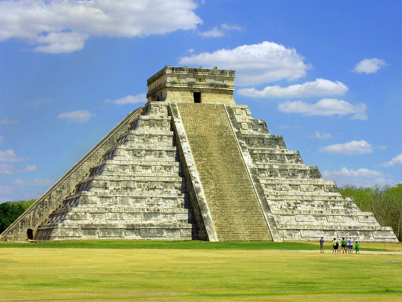 Photo of Maya pyramid