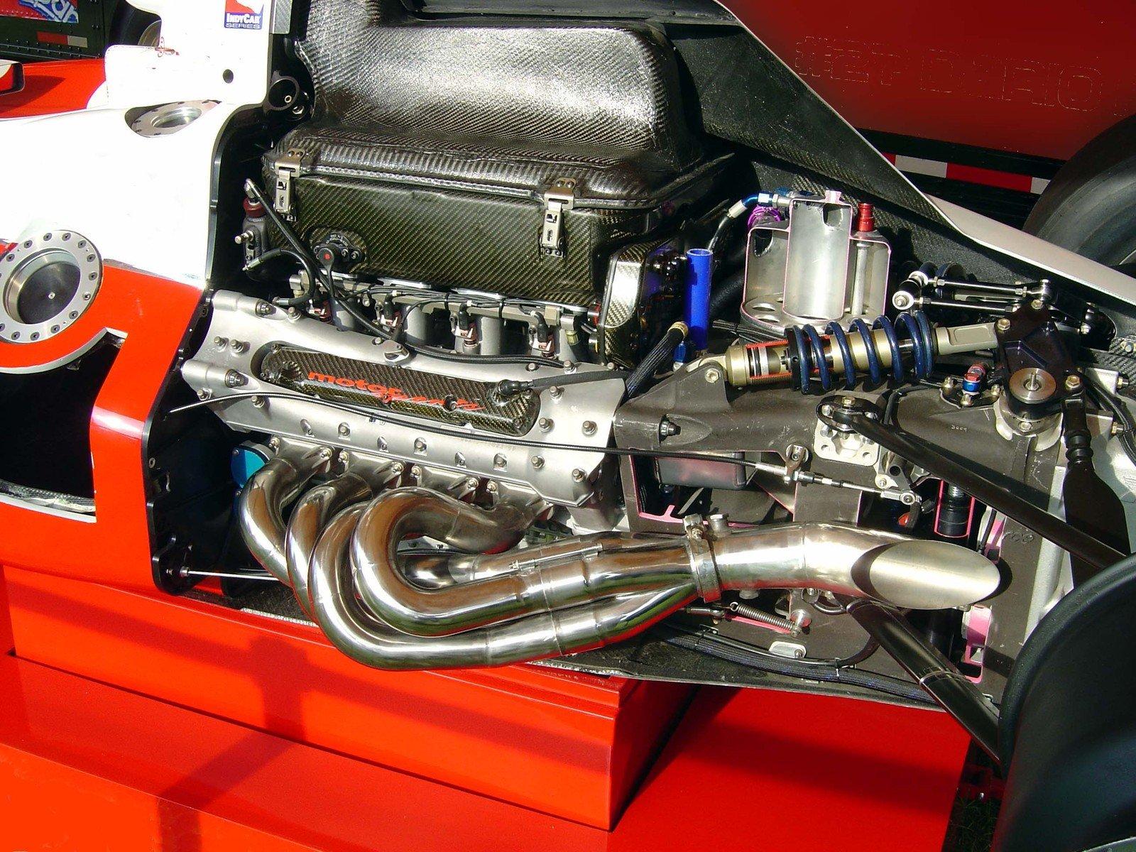 Indy Car Cutaway