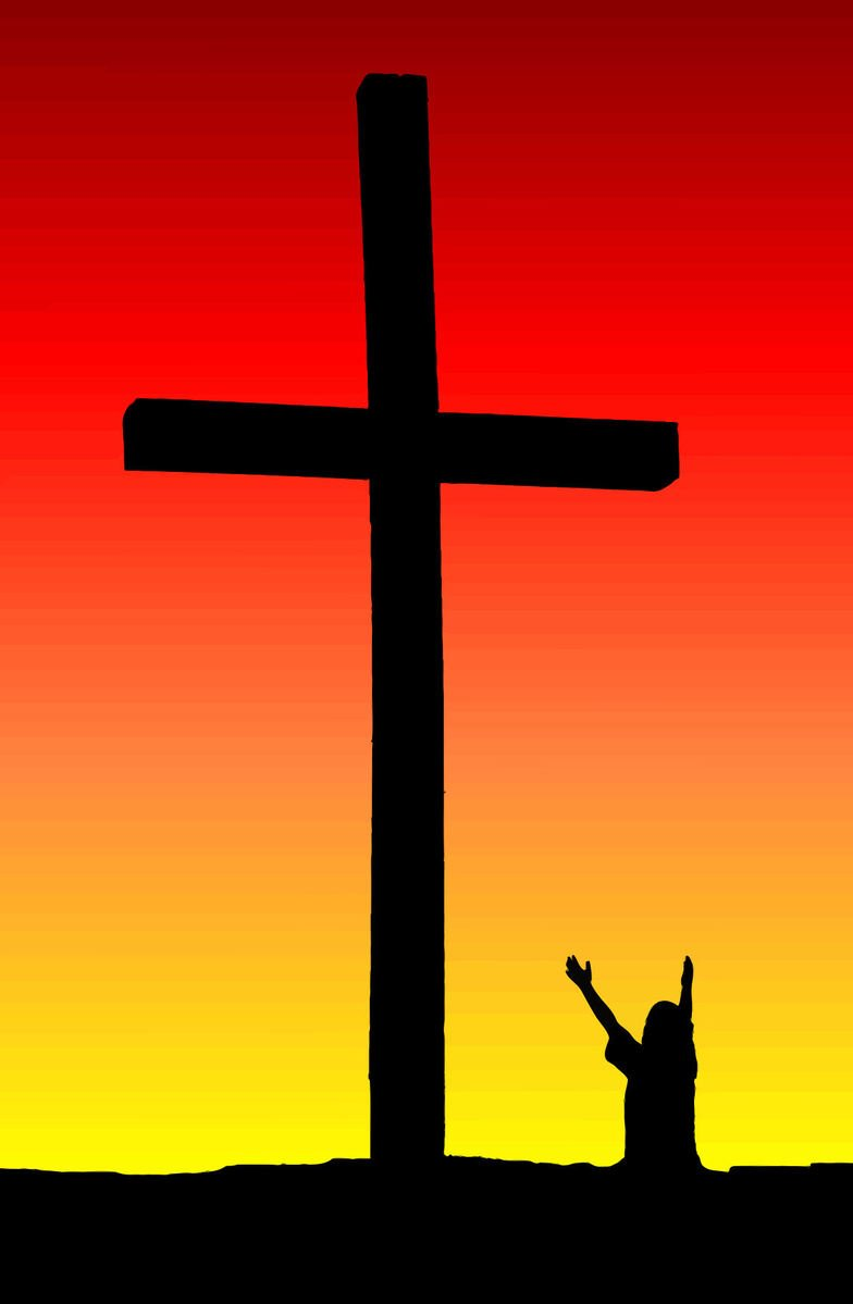 Free Child Praise at Cross Stock Photo - FreeImages com