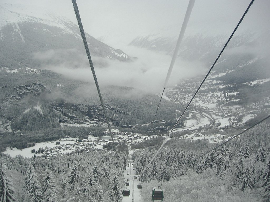 In the cable-car
