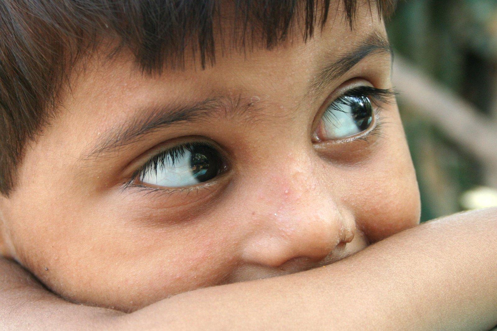 Stare,eyes,kid,baby