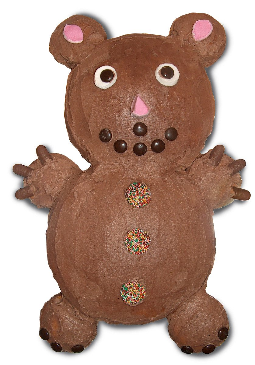Download Teddy Bear With Cake Images : Free Teddy Bear Cake Stock Photo - FreeImages.com