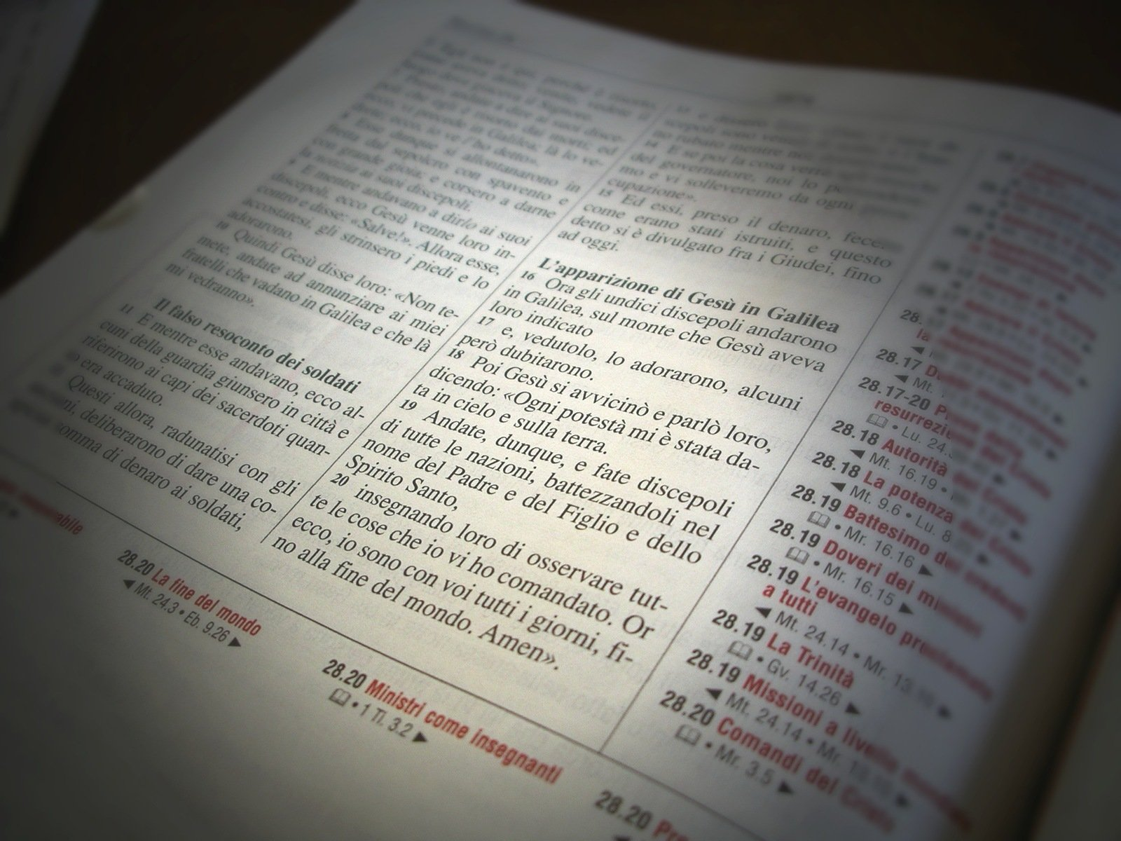 Bibbia 3 la LA BIBBIA