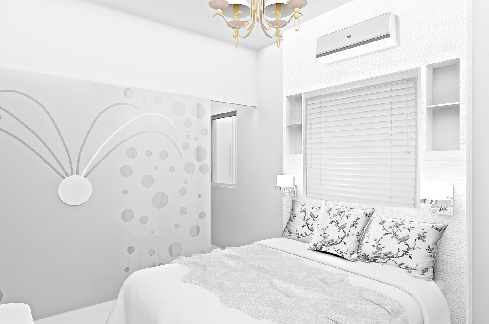 Free bedroom concept design stock photo for Bedroom concepts