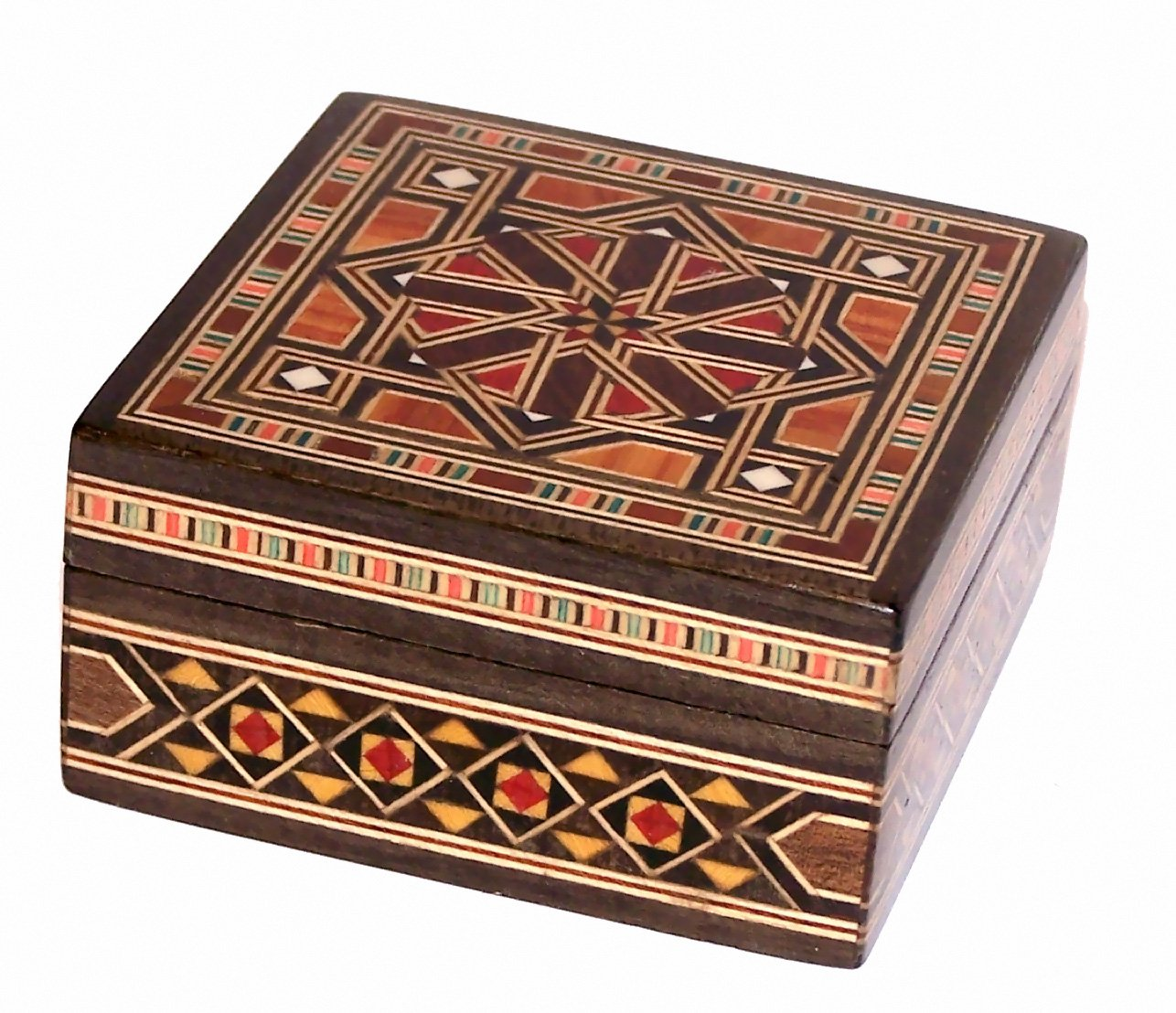 Middle Eastern wooden box