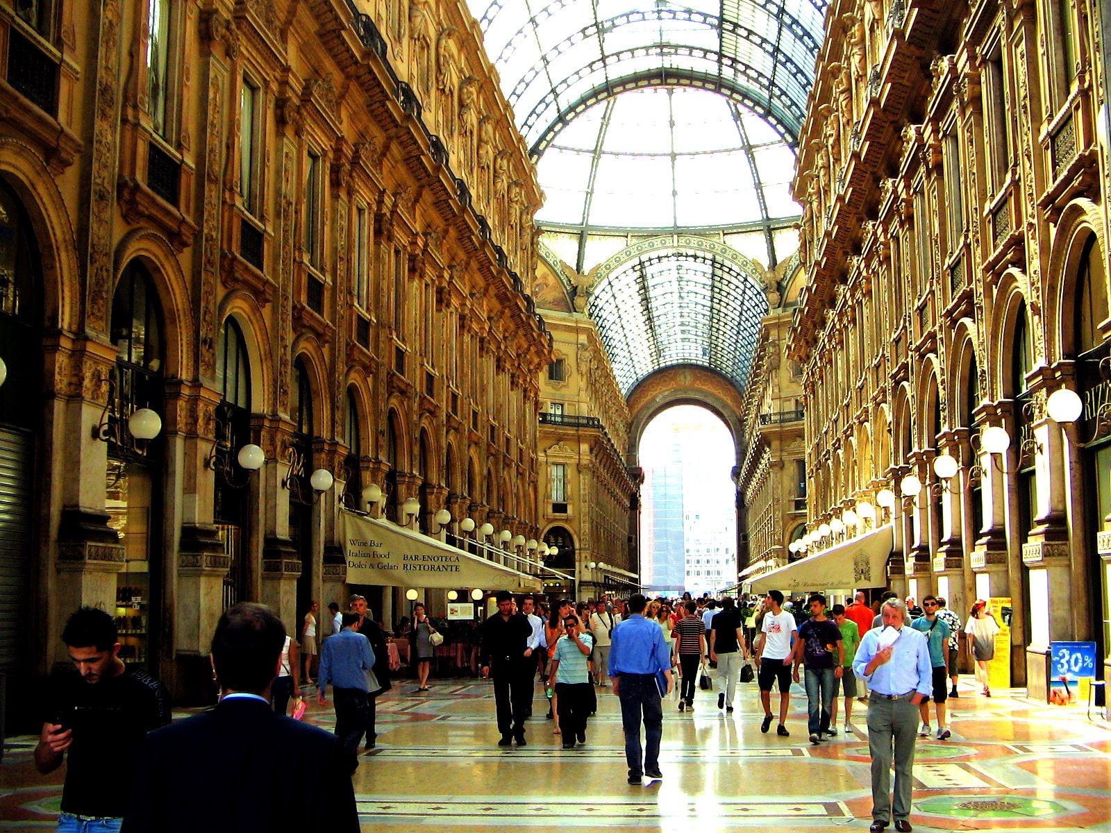 Free Milan, Galleria Vittorio Emanuele II Stock Photo ...