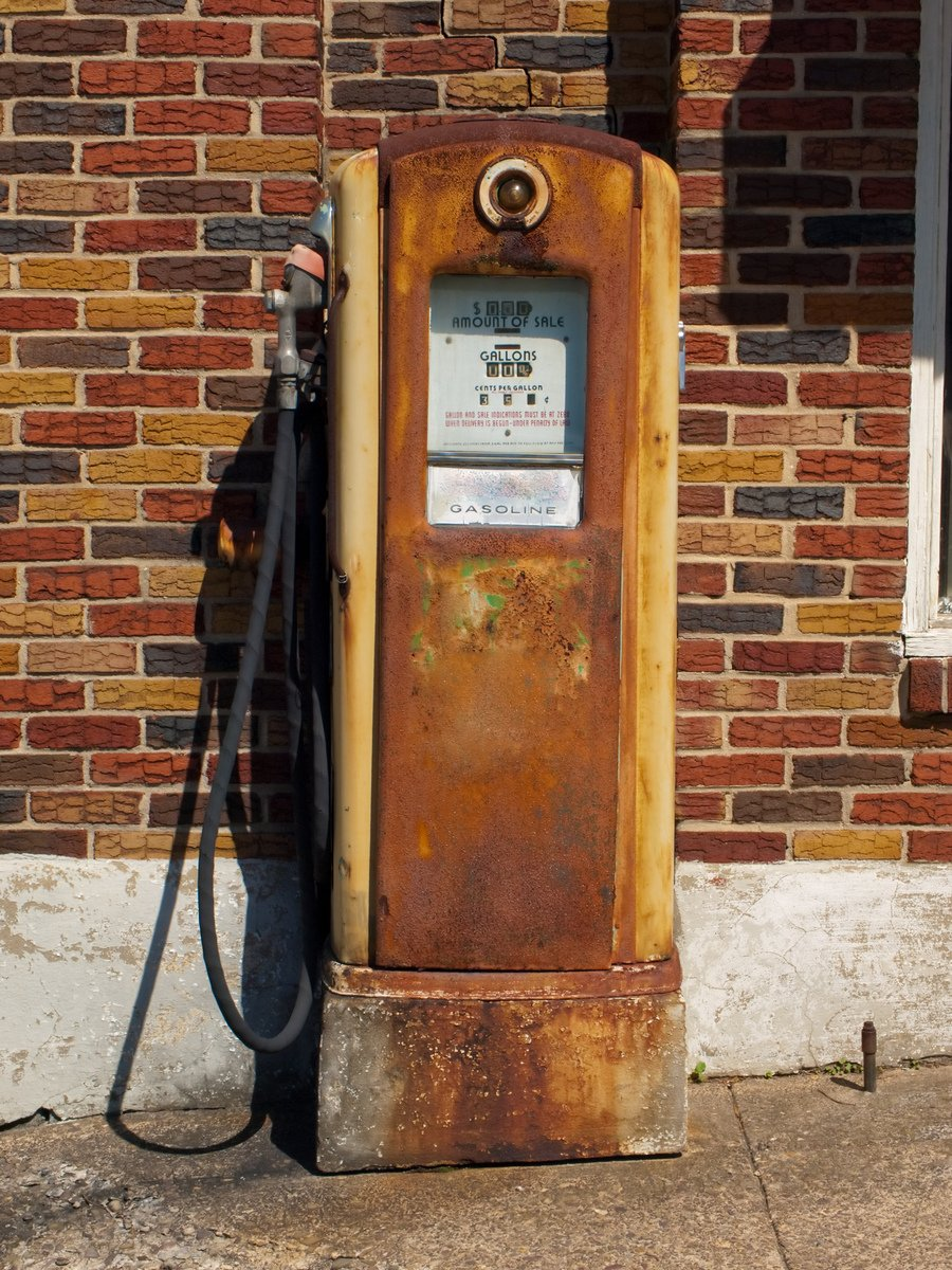 Free Vintage Gas Pump Stock Photo Freeimages Com